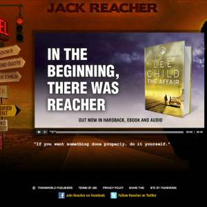 Original Reacher homepage