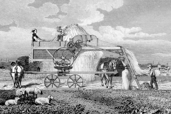 The History of Threshing